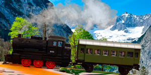 Железная дорога и поезд.    Новые игрушки для мальчиков.